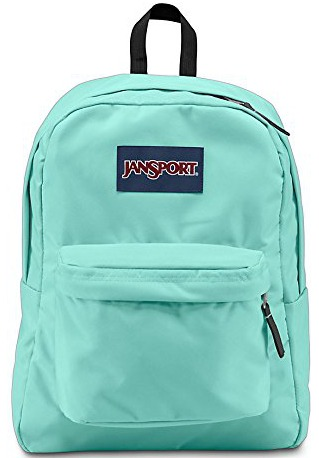 Mint green Jansport Backpack