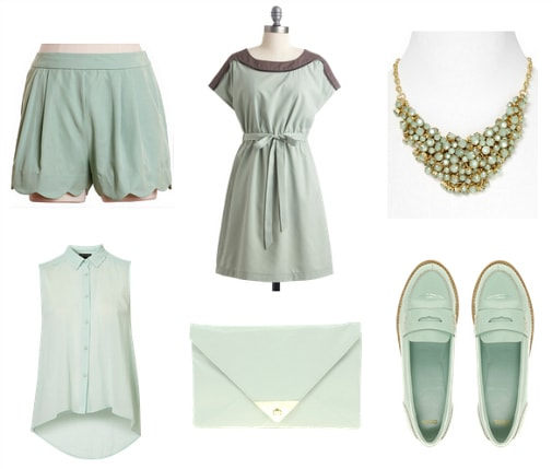 Mint spring 2012 color trend