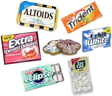 Mints and gum