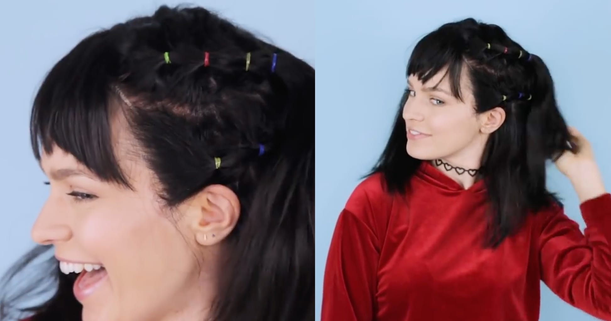 Miranda Sanchez costume - two hairstyles to try for Halloween