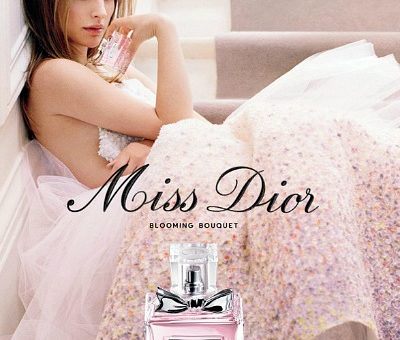 Miss Dior blooming bouquet fragrance ad