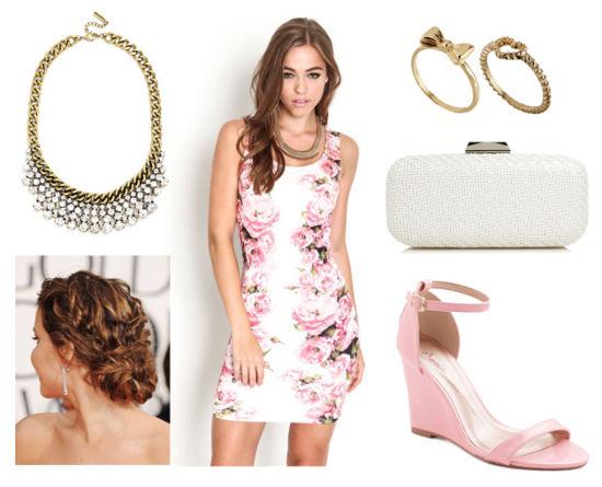 Miss dior rose print dress