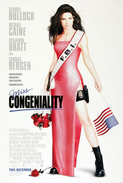 Miss Congeniality Movie Poster