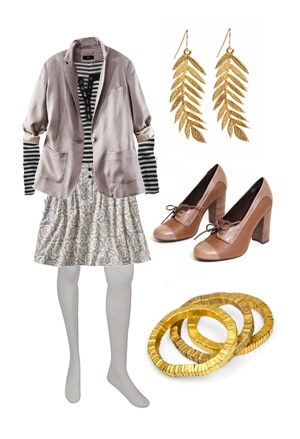 How to wear mixed patterns