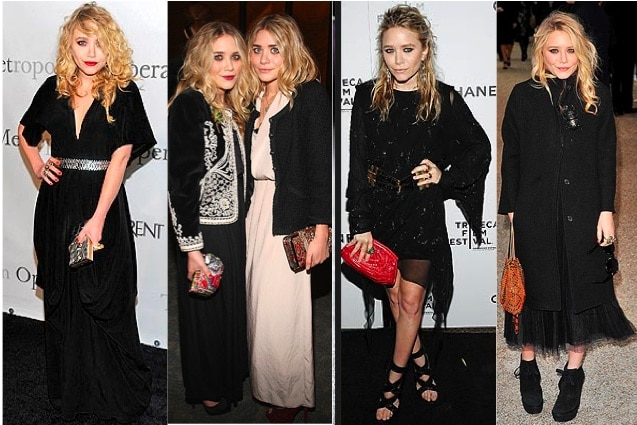 Mary-Kate Olsen Night Outfit