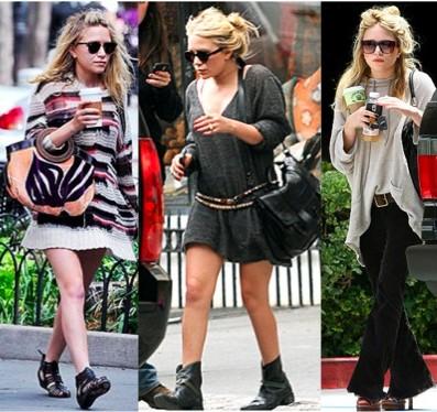 Mary-Kate Olsens Daytime Looks