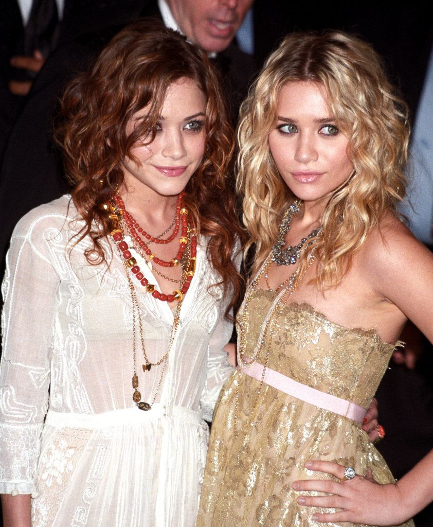 Mary-Kate and Ashley Olsen in 2005