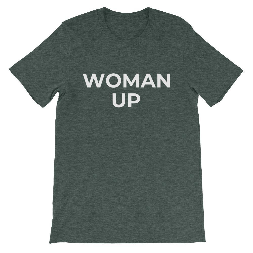 Feel Great Goods tee: Woman up