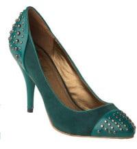 Mod Cloth suede studded heel