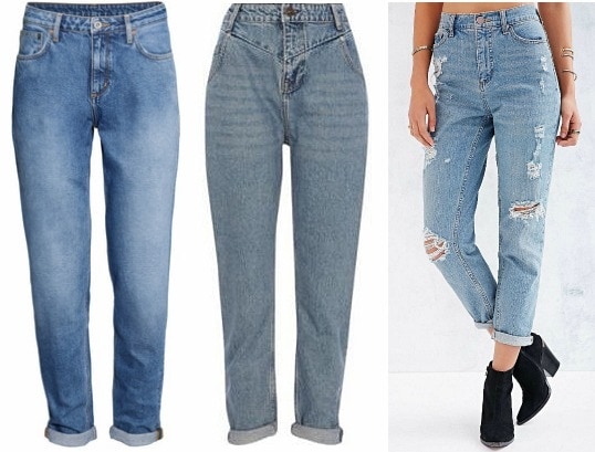 Mom jeans trend