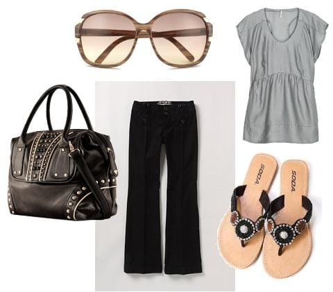 Mom shopping outfit