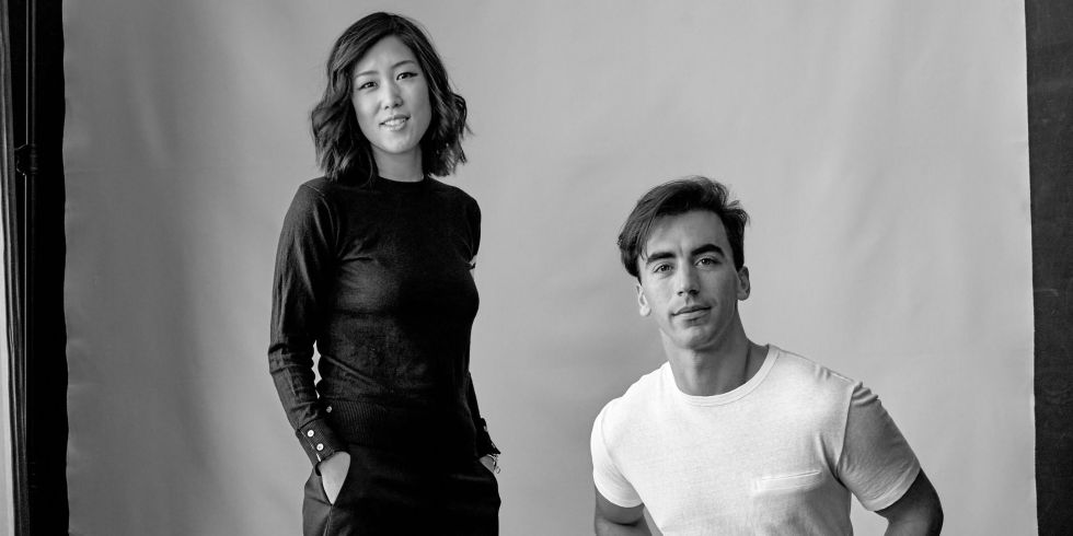Monse Founders Laura Kim and Fernando Garcia (Source: Elle)