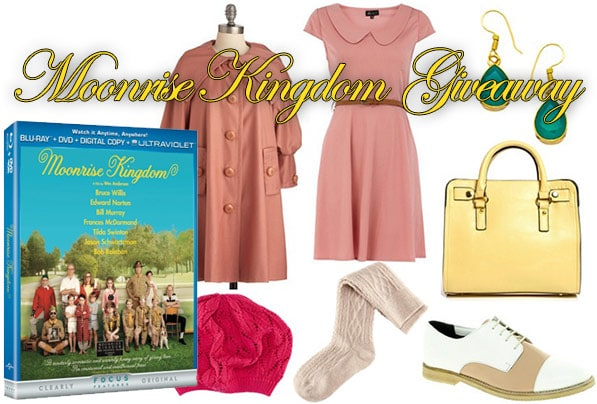 Moonrise Kingdom giveaway
