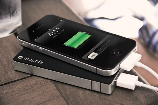 Mophie rechargeable battery pack