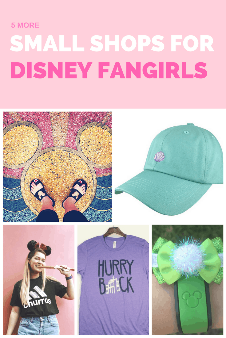 More small shops for Disney Fangirls -- the best places to shop for unofficial disney merch