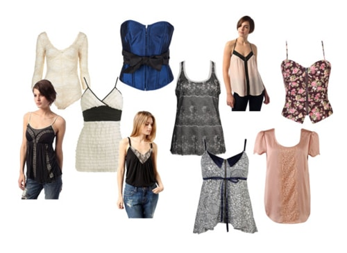Lingerie-Inspired Pieces