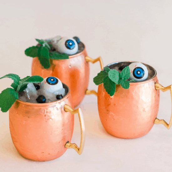 Boo-berry moscow mule
