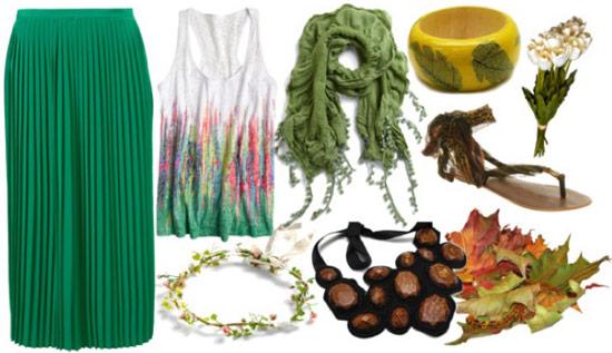 Halloween costume idea: Mother Nature