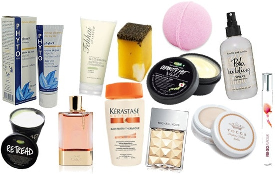 Mother's Day gift ideas: Assorted bath and body products