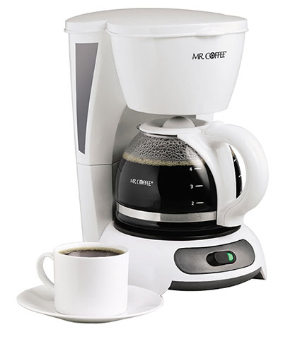 Mr. Coffee white coffee maker