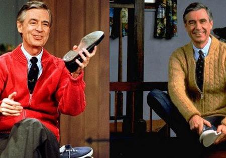Mr. Rogers of Mr. Rogers' Neighborhood
