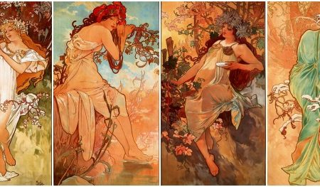Mucha four seasons header