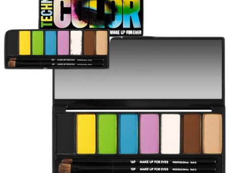 makeup for ever technicolor palette