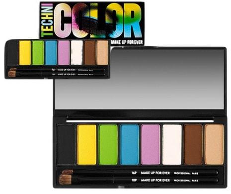 makeup for ever technicolor palette