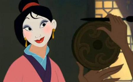 Disney's Mulan visiting the Matchmaker