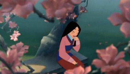 Disney's Mulan during the