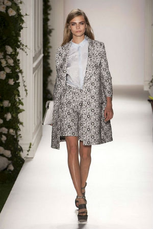Mulberry spring 2014 rtw look 2