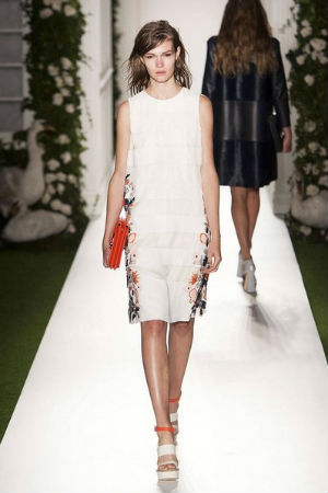 Mulberry spring 2014 rtw look 3
