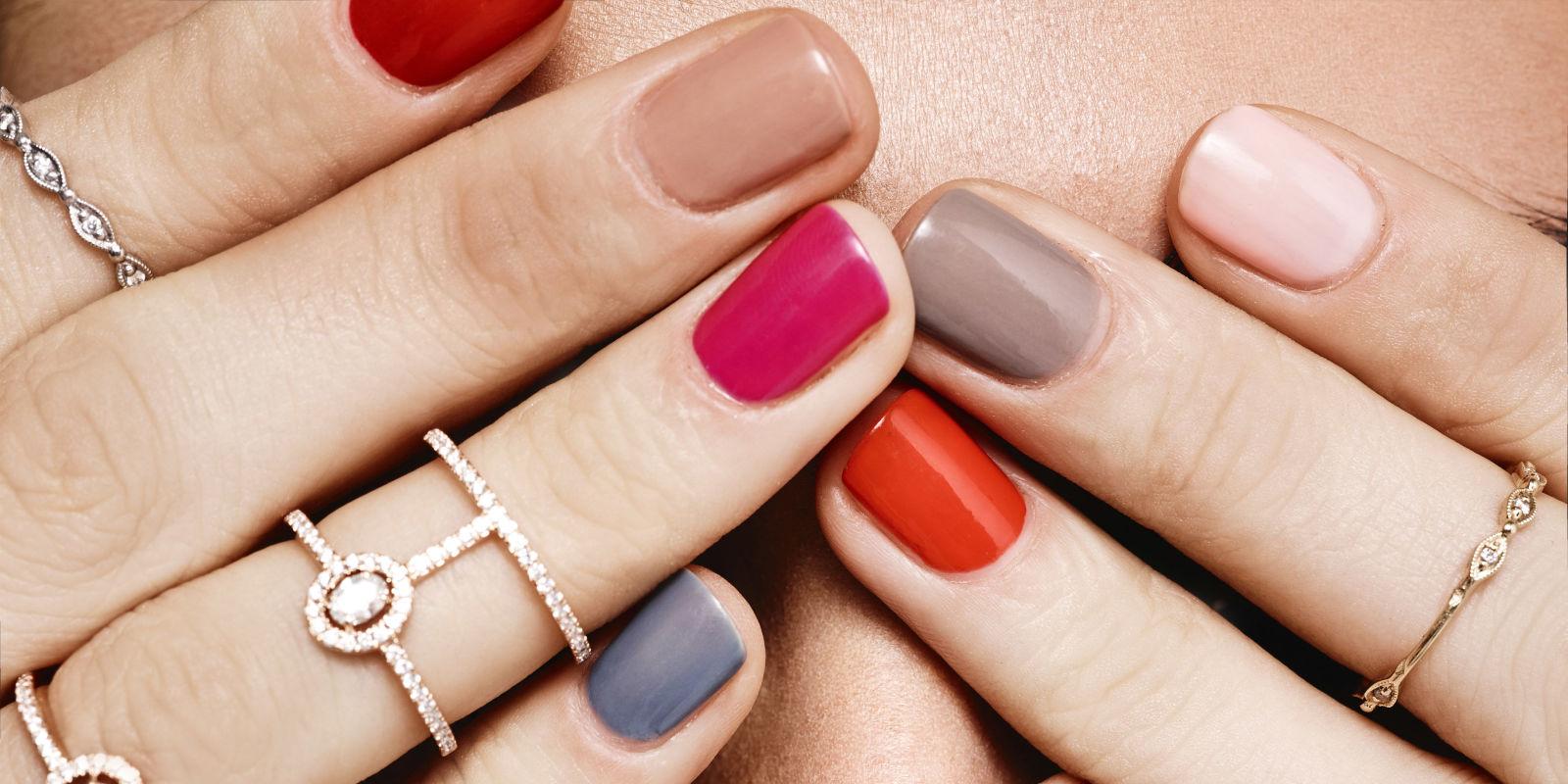 3 Trendy Mani Pedi Color Combos For Fall College Fashion