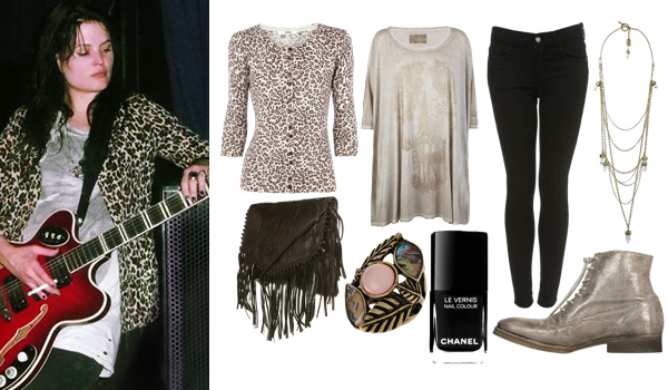 Outfit inspired by Alison Mosshart