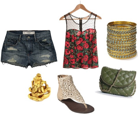 Music look: Outfit for a concert or music festival date