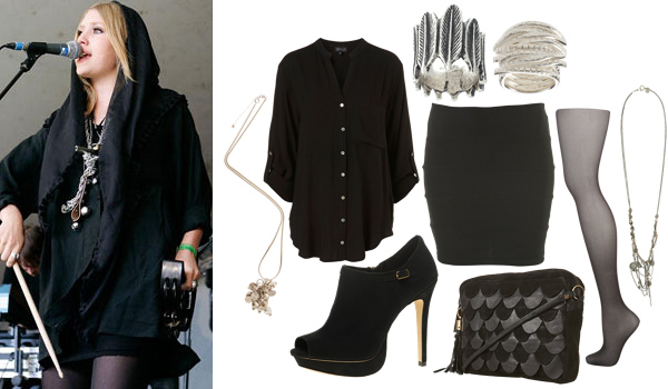 Outfit inspired by Lykke Li