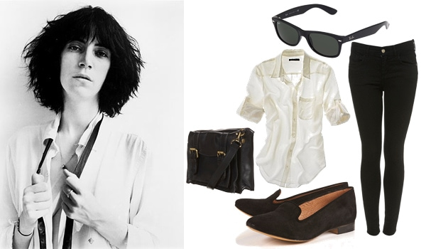 Outfit inspired by Patti Smith