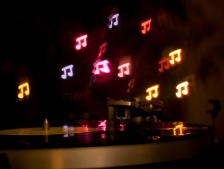 Musical note lights