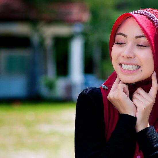 Muslim fashion blogger