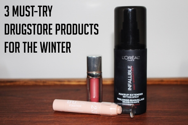 Must have drugstore products for winter