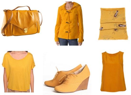 Mustard yellow fall 2011 color