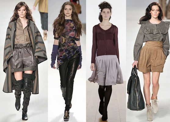 Fall 2009 color trend - muted colors