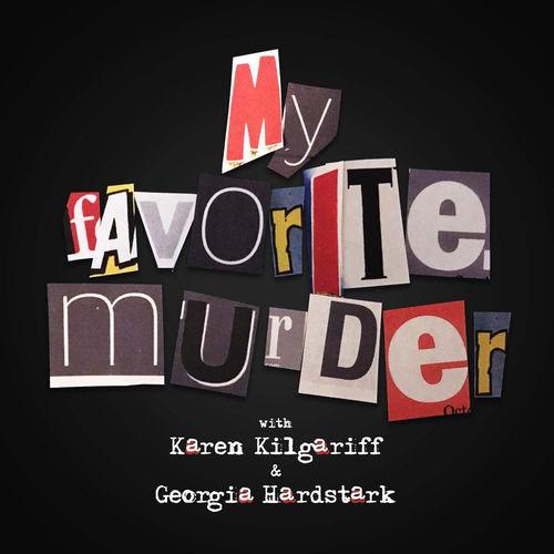 My Favorite Murder podcast logo