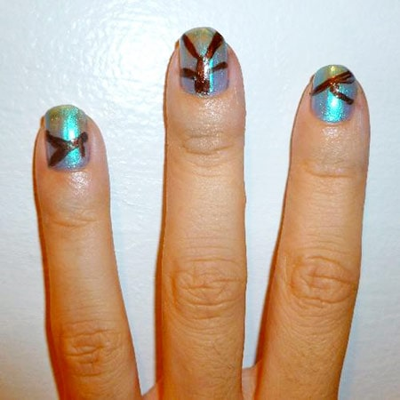 Foliage nails - branches