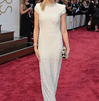 Naomi Watts in Calvin Klein Collection at the 2014 Academy Awards