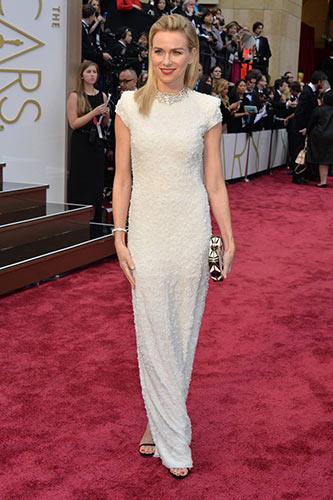 Naomi Watts in Calvin Klein Collection at the 2014 Academy Awards