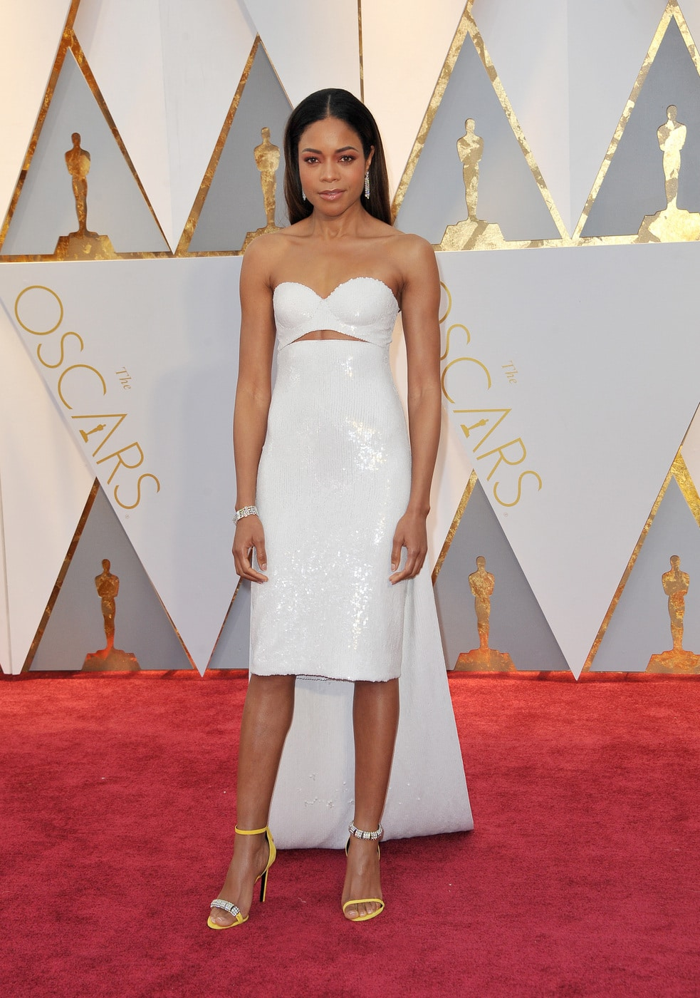 Naomie Harris in Calvin Klein by Appointment at the 2017 Oscars