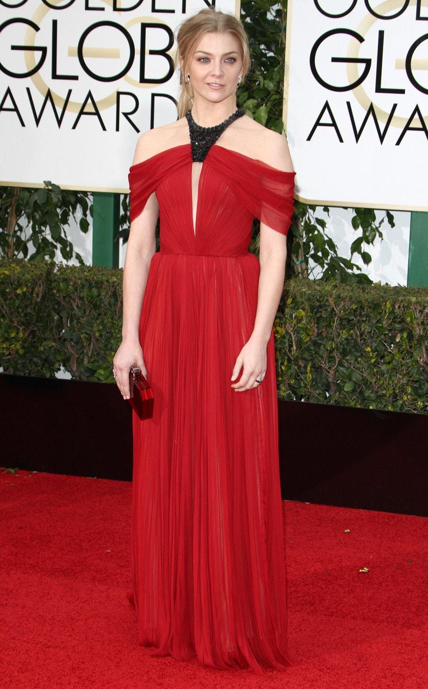 Natalie Dormer at the 2016 Golden Globes