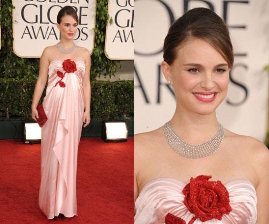 Natalie Portman 2011 Golden Globes