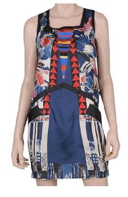 Native Silk Dress front